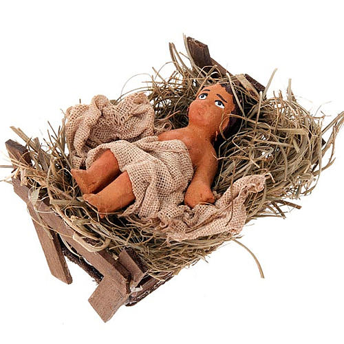 Nativity scene set, 10 cm tall 2