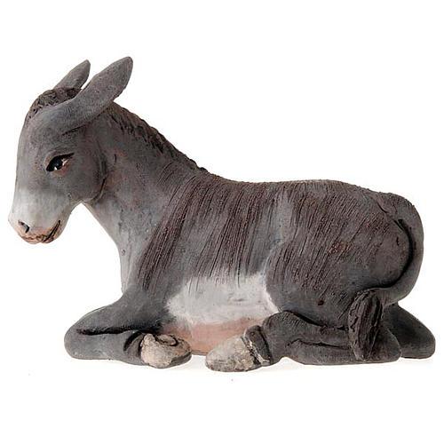 Buey y burro 14 cm 2