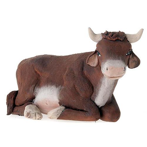 Buey y burro 14 cm 3