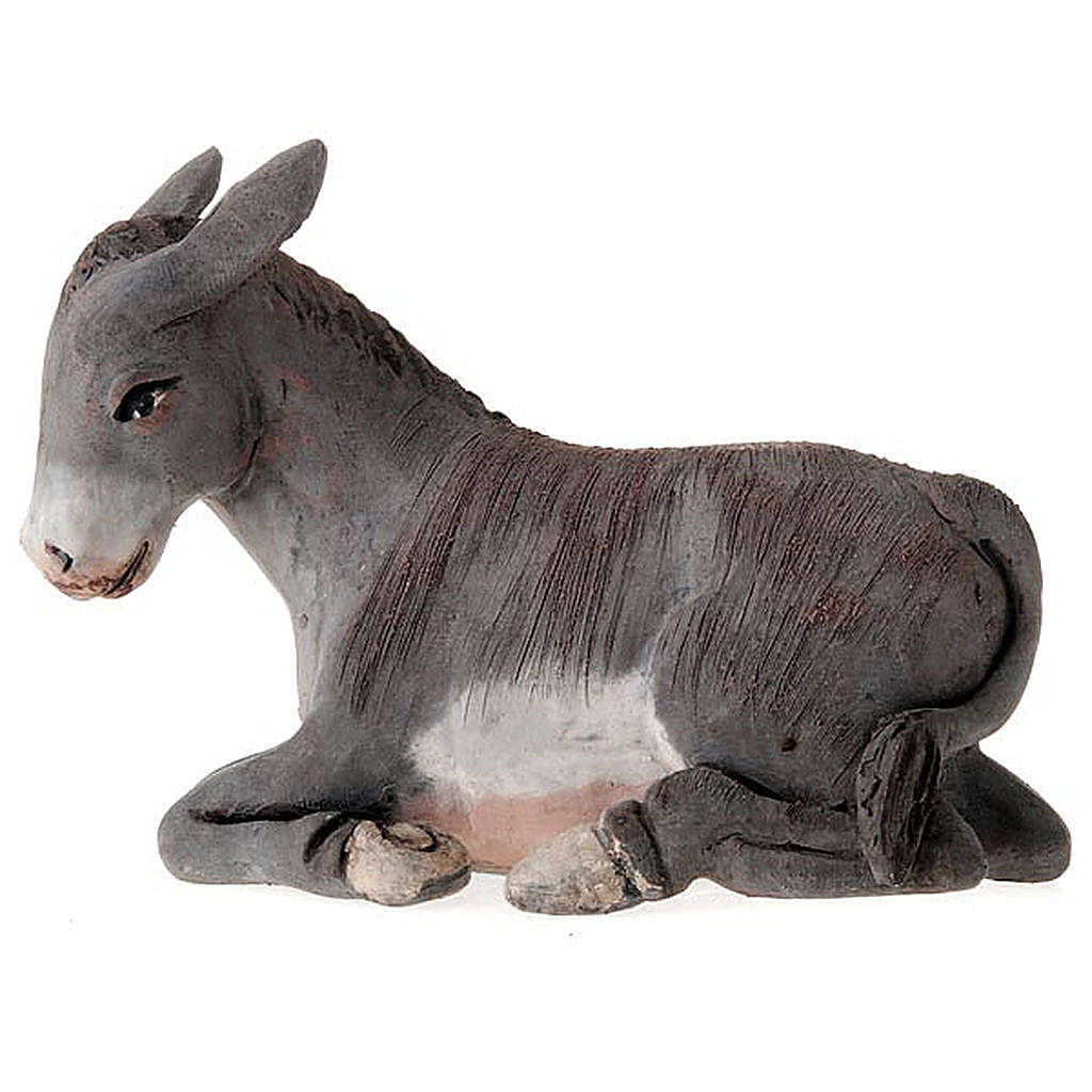 Nativity set accessories 14 cm ox and ass figurines 4