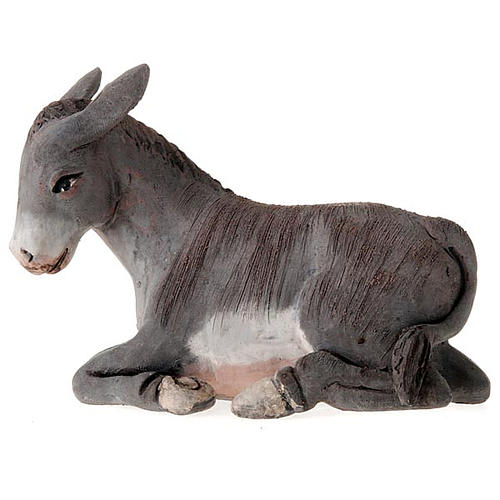 Nativity set accessories 14 cm ox and ass figurines 2