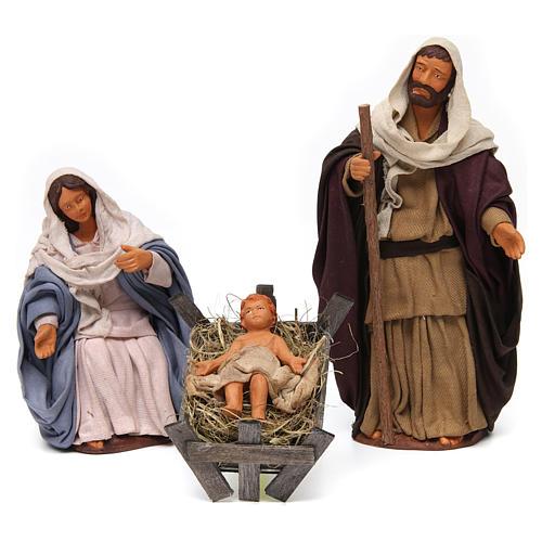 Nativity scene set 14 cm 5