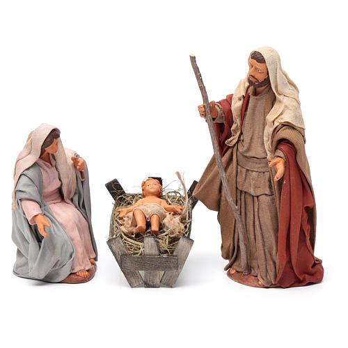 Nativity scene set 14 cm 1