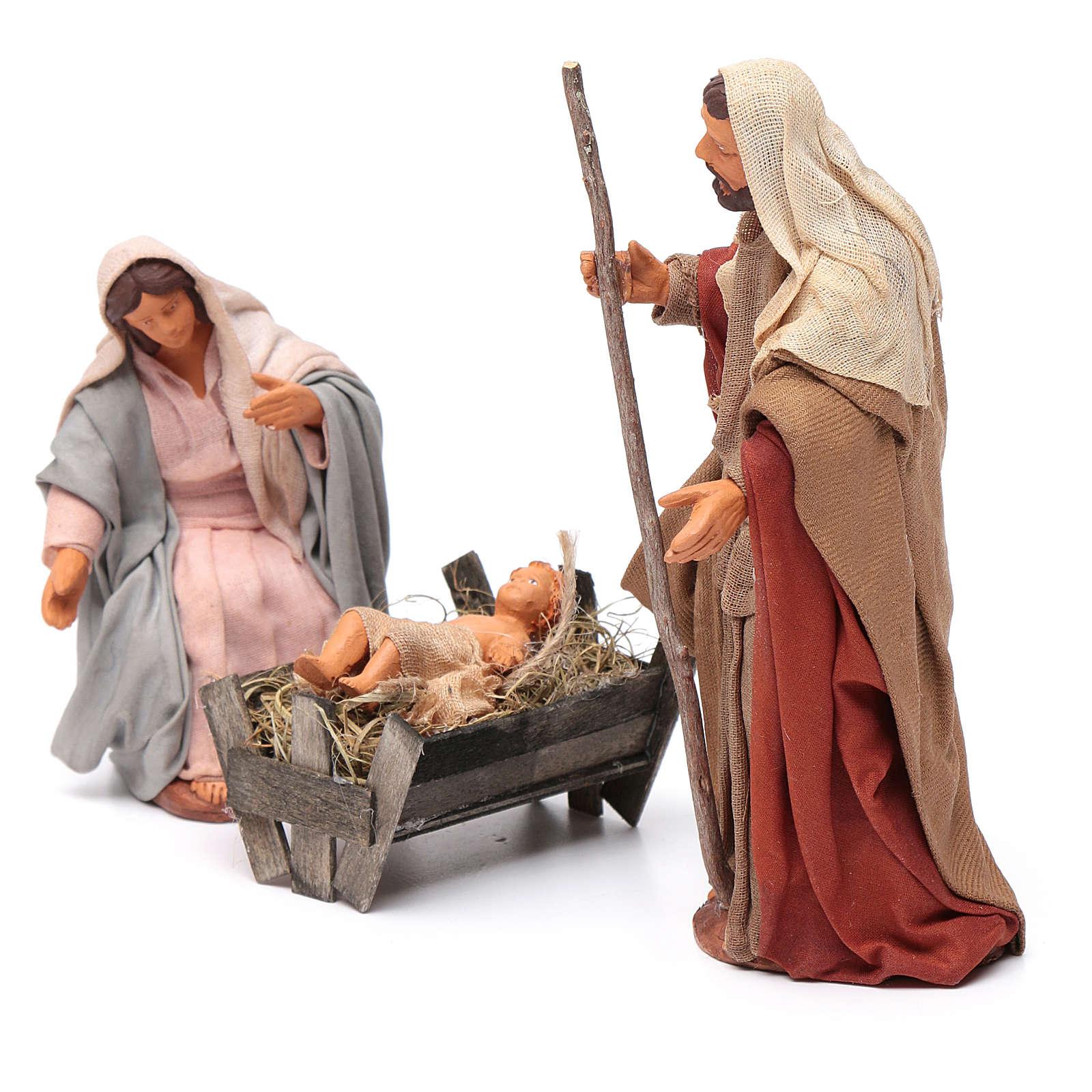 Nativity scene set 14 cm 4