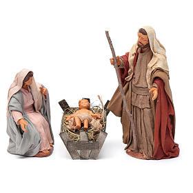 Nativity scene set 14 cm s1