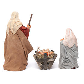Nativity scene set 14 cm s4