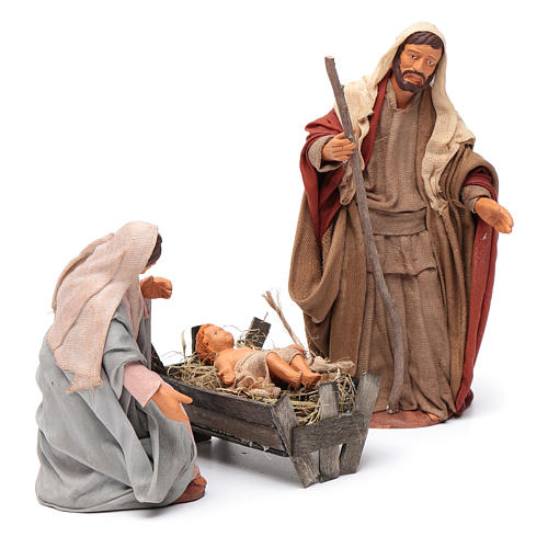 Nativity scene set 14 cm 3