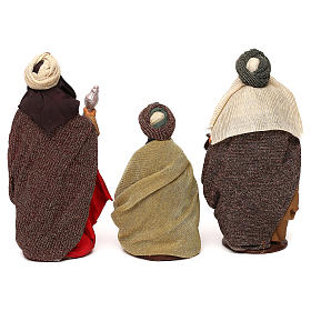 Nativity set accessories Three wise kings 14 cm figurines s5