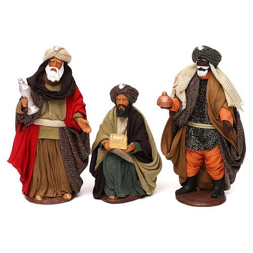 Nativity set accessories Three wise kings 14 cm figurines 1