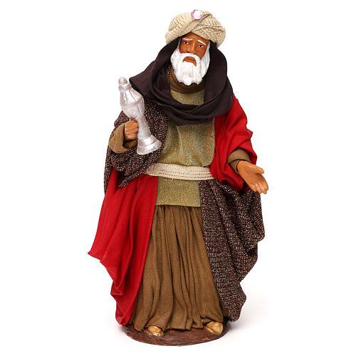 Nativity set accessories Three wise kings 14 cm figurines 2