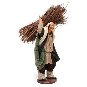 Nativity set accessory Wood cutter 14 cm figurine s4