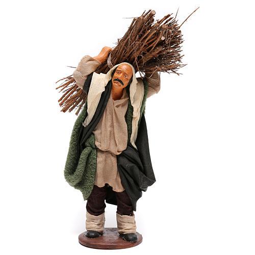 Nativity set accessory Wood cutter 14 cm figurine 1
