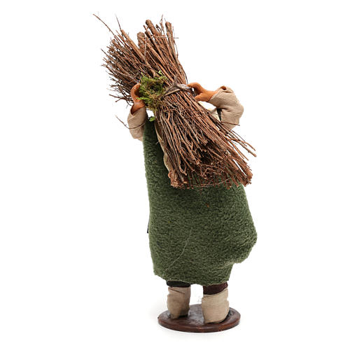 Nativity set accessory Wood cutter 14 cm figurine 5