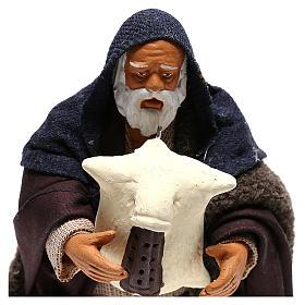 Nativity set accessory piper 14 cm figurine s7