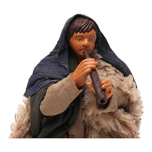 Nativity set accessory fifer 14 cm figurine 2