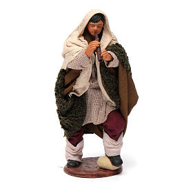 Nativity set accessory fifer 14 cm figurine s1