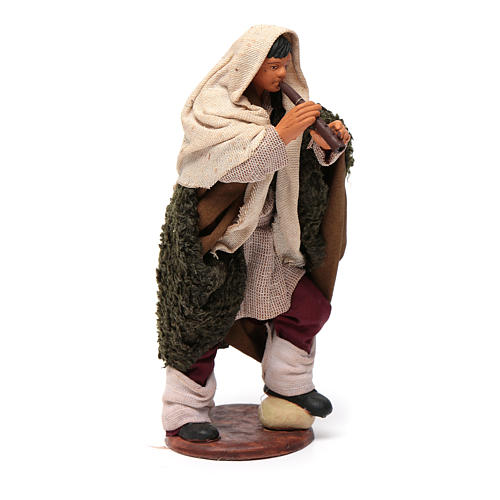 Nativity set accessory fifer 14 cm figurine 3