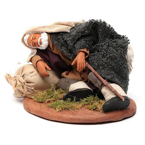 Hombre que duerme 14 cm 2