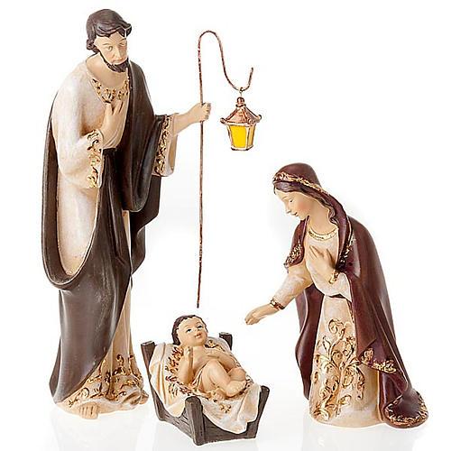 Nativity scene in resin, 33 cm 6