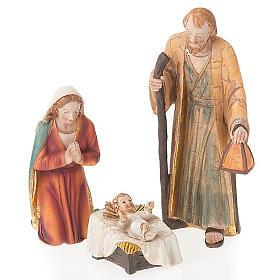 Nativity set scene 21 cm tall crib s6