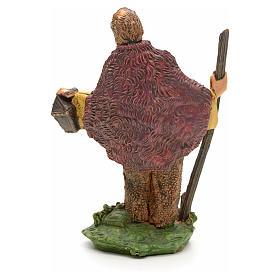 Pastore con bastone e lanterna 8 cm s2