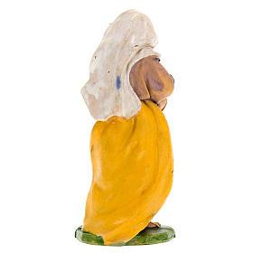 Donna con brocca di vino 10 cm s2