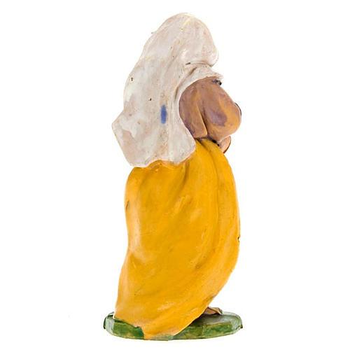 Donna con brocca di vino 10 cm 2