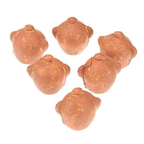 Cántaros de plástico conjunto 6 piezas 1