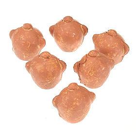 Amphores en plastique crèche set 6 pièces s1