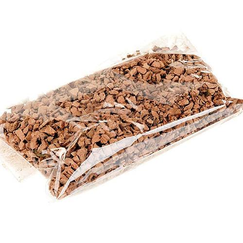 Grani di sughero per pavimentazioni presepe 75 gr 2