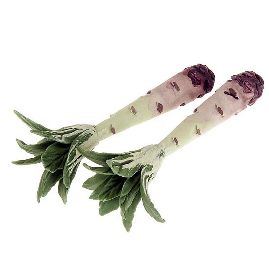 Verduras exoticas para pesebres conjunto 2 piezas 4