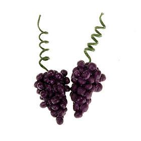 Grappoli d'uva rossa presepe fai da te 2 pz. s1