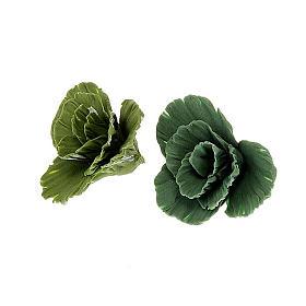 Miniature food: Nativity set accessory, lettuce clumps 2 pcs.