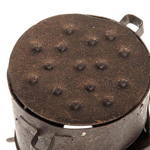 Braciere per castagne presepe 2