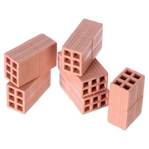 Briques en plastique pour crèche 5 pièces 2