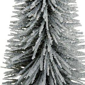 Nativity set accessory, snow-covered pine tree s2