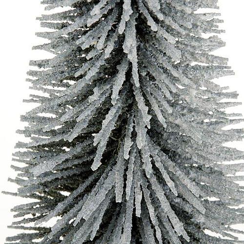 Nativity set accessory, snow-covered pine tree 2