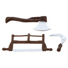 Nativity set accessory, farmer tools s2