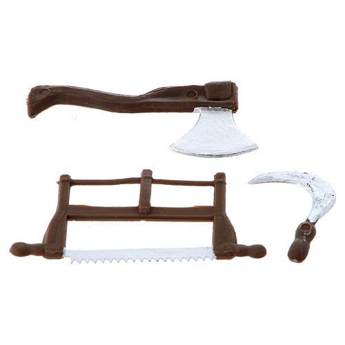 Nativity set accessory, farmer tools 2