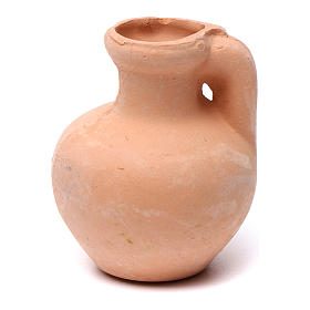 Nativity set accessory,terracotta jar s1