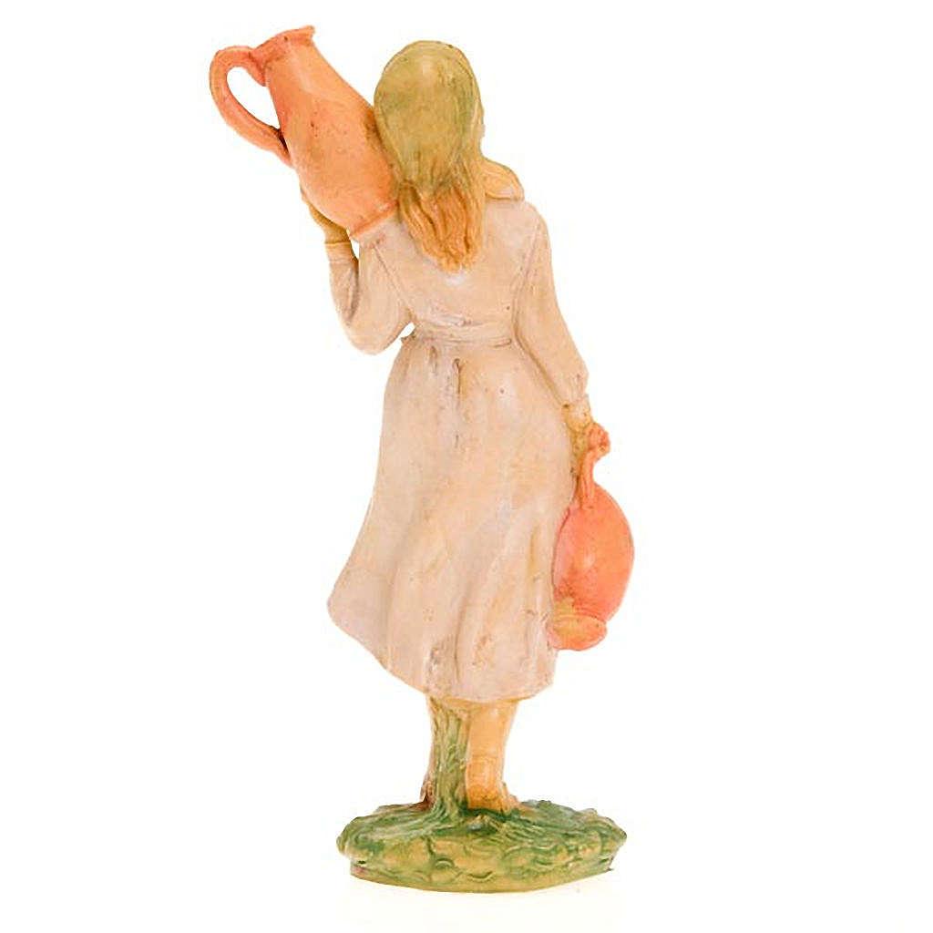 Donna con due anfore 10 cm 3