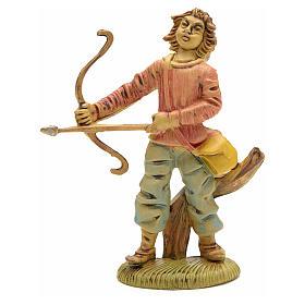 Nativity figurine, archer, 8 cm s1