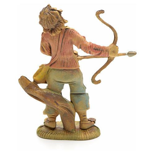 Nativity figurine, archer, 8 cm 2