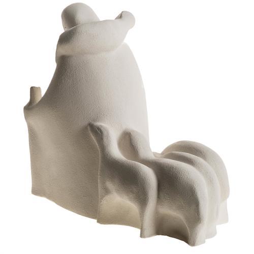 Presépio Adoração 32,5 cm argila refractária 14