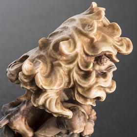 Presepe legno dipinto Val Gardena mod. Bachtaler s5