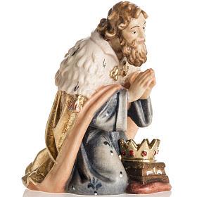 Adoración de los Reyes Magos madera Val Gardena s6