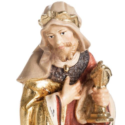 Adoración de los Reyes Magos madera Val Gardena 3