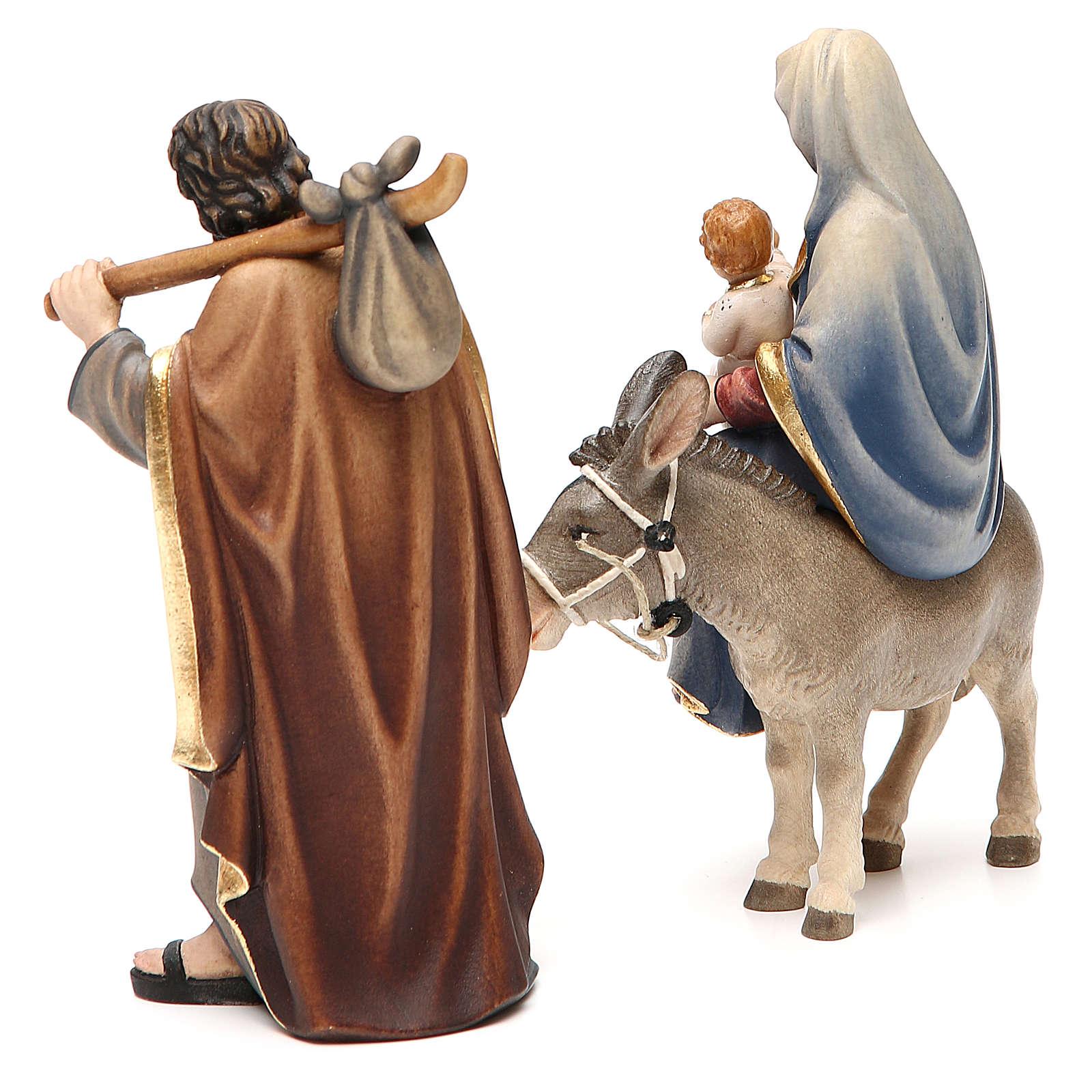 Nativity set, Flight into Egypt 4