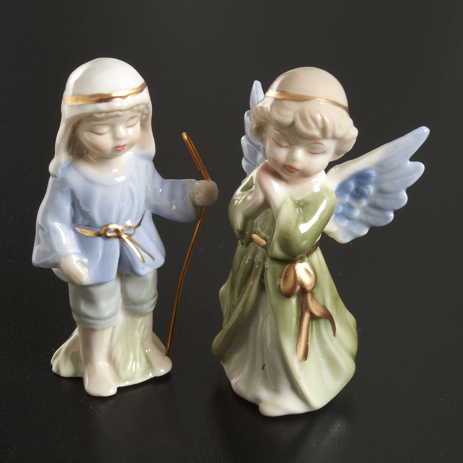 Nativity scene in ceramic, 11 figurines 10cm 4