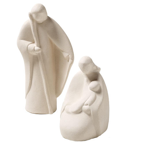 Nativity scene Noel model, clay, Centro Ceramiche Ave 17,5cm 1